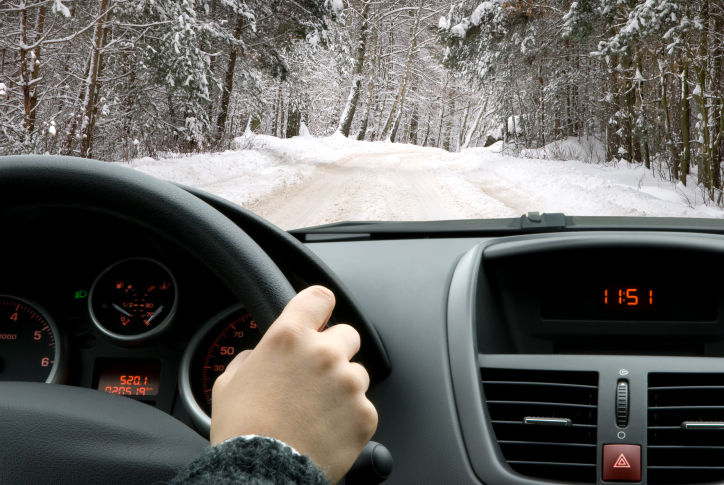 driving in winter season
